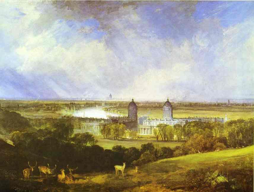 London 1809 | Joseph Mallord William Turner | Oil Painting