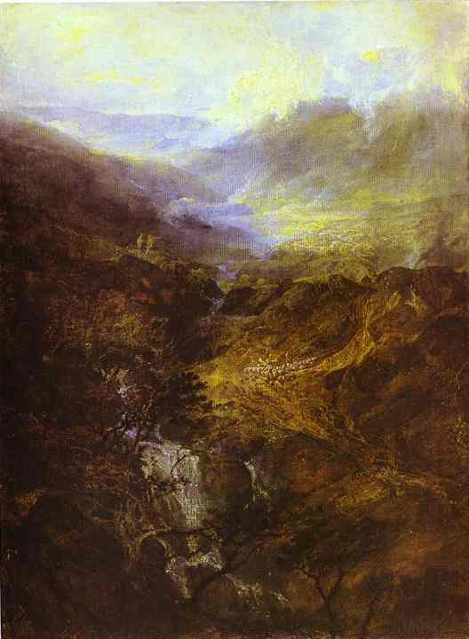Morning Amongst The Coniston Fells Cumberland 1798 | Joseph Mallord William Turner | Oil Painting