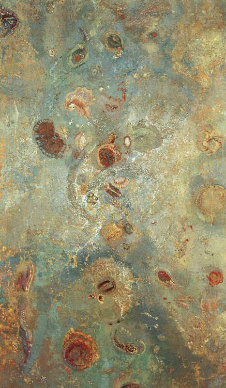 Underwater Vision 2 1910 | Odilon Redon | Oil Painting