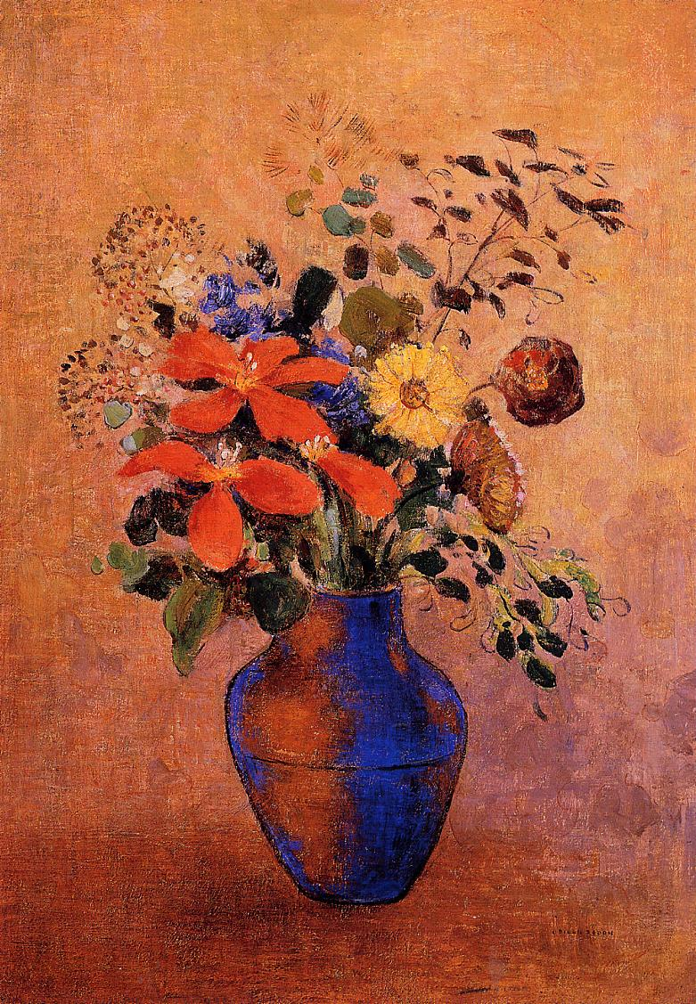 Vase of Flowers 1900 | Odilon Redon | Oil Painting