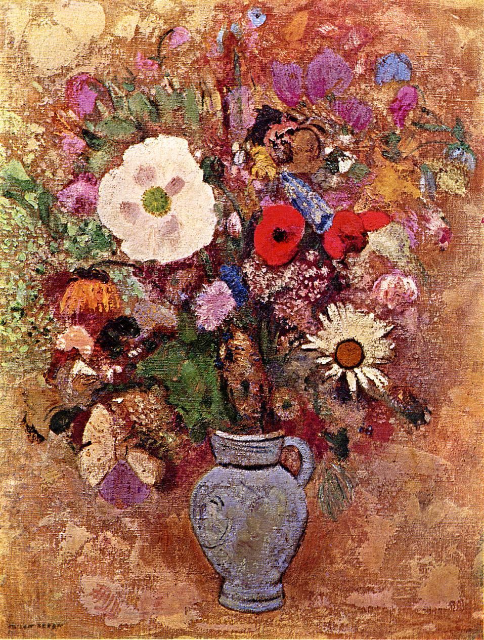 Vase of Flowers 1903-1905 | Odilon Redon | Oil Painting