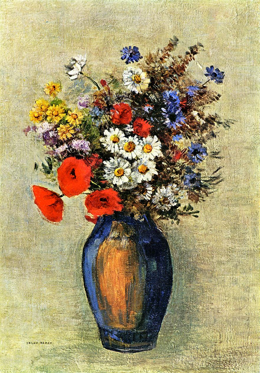 Vase of Flowers 1904 | Odilon Redon | Oil Painting