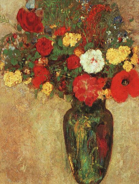 Vase of Flowers 3 | Odilon Redon | Oil Painting