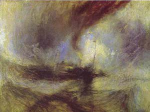 Snow Storm Steam Boat Off A Harbours Mouth 1842 | Joseph Mallord William Turner | Oil Painting