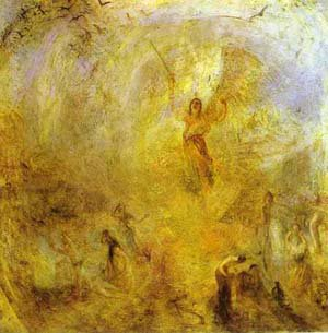 The Angel Standing In The Sun 1846 | Joseph Mallord William Turner | Oil Painting