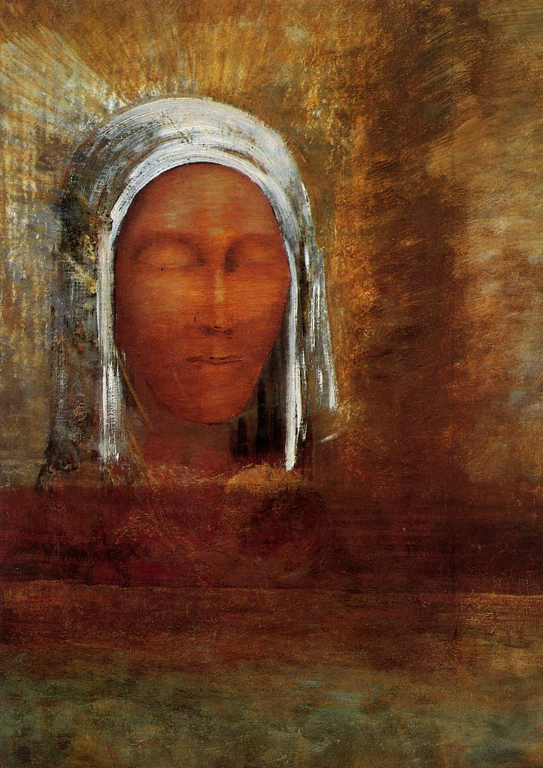 Virgin of the Dawn 1890 | Odilon Redon | Oil Painting