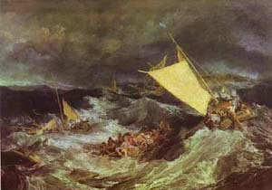 The Shipwreck 1805 | Joseph Mallord William Turner | Oil Painting