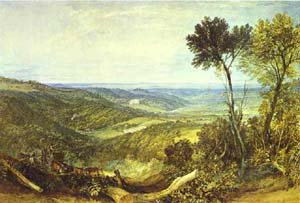 The Vale Of Ashburnham 1816 | Joseph Mallord William Turner | Oil Painting