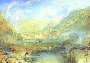 Tivaulx Abbey Yorkshire 1825 | Joseph Mallord William Turner | Oil Painting