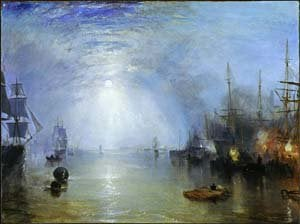 Keelmen Heaving in Coals by Moonlight | Joseph Mallord William Turner | Oil Painting