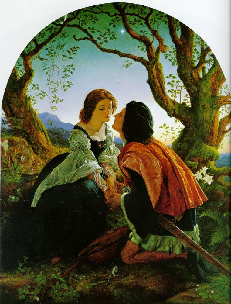 Hesperus | Joseph Noel Paton | Oil Painting