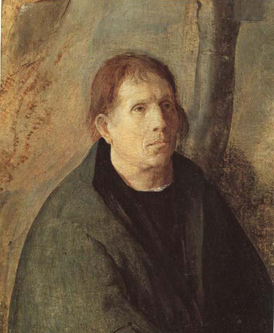 Portrait Of A Donor   Aert Claesz Van Leyden   Oil Painting