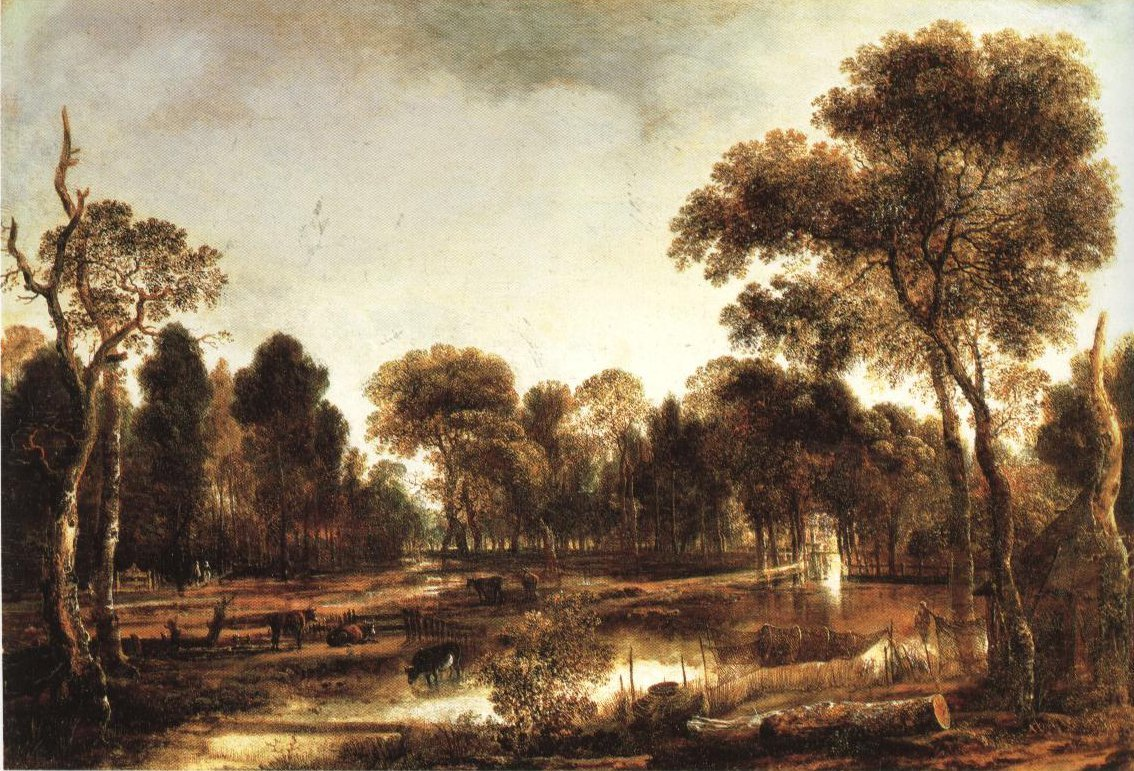 Wooded River Landscape | Aert Van Der Neer | Oil Painting