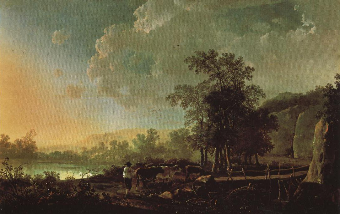 Evening Landscape | Albert Jacobsz Cuyp | Oil Painting