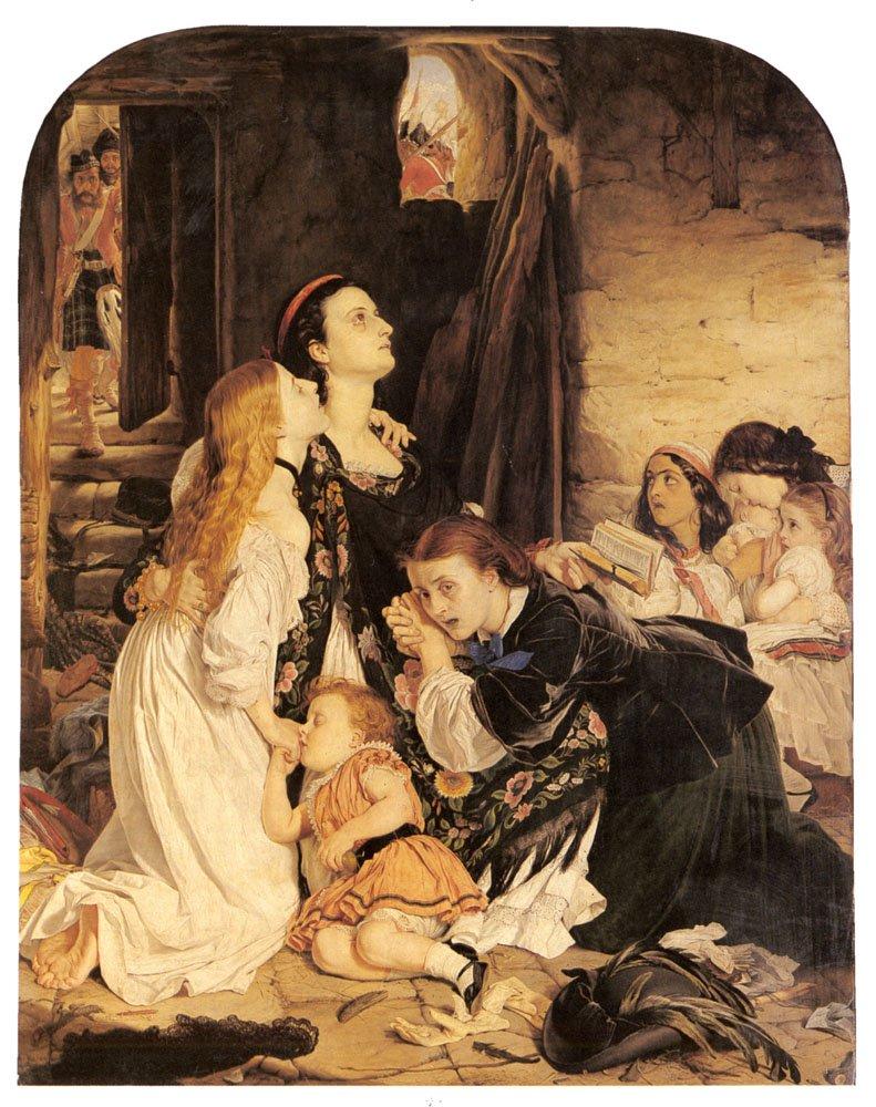 Paton Sir Joseph Noel In Memoriam | Joseph Noel Paton | Oil Painting