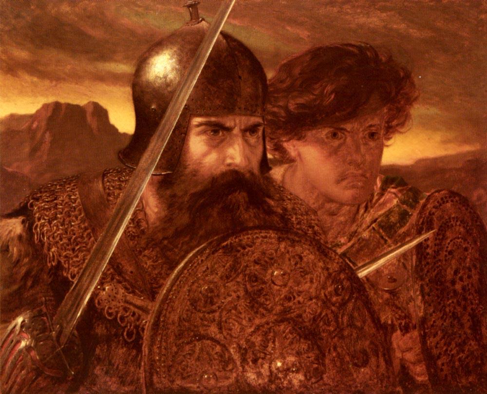 Paton Sir Joseph Noel Warriors | Joseph Noel Paton | Oil Painting