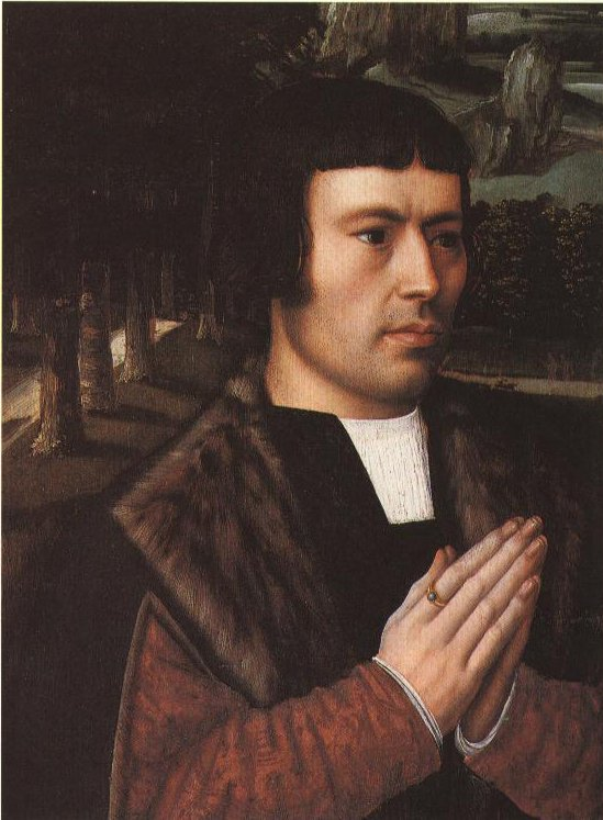 Gentleman At Prayer | Ambrosius Benson | Oil Painting