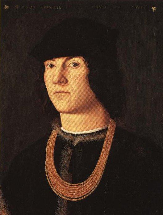 Portrait Of Tommaso Raimondi | Amico Aspertini | Oil Painting