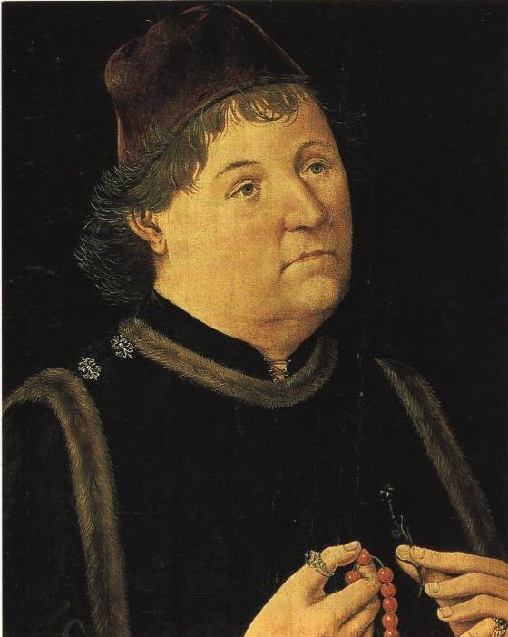 Portrait Of A Man   Annoymous Germanic Masters Between 1480 And 1500   Oil Painting