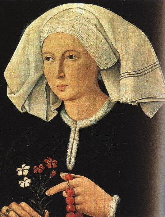 Portrait Of A Woman | Anonymous Germanic Masters Between 1480 And 1500 | Oil Painting