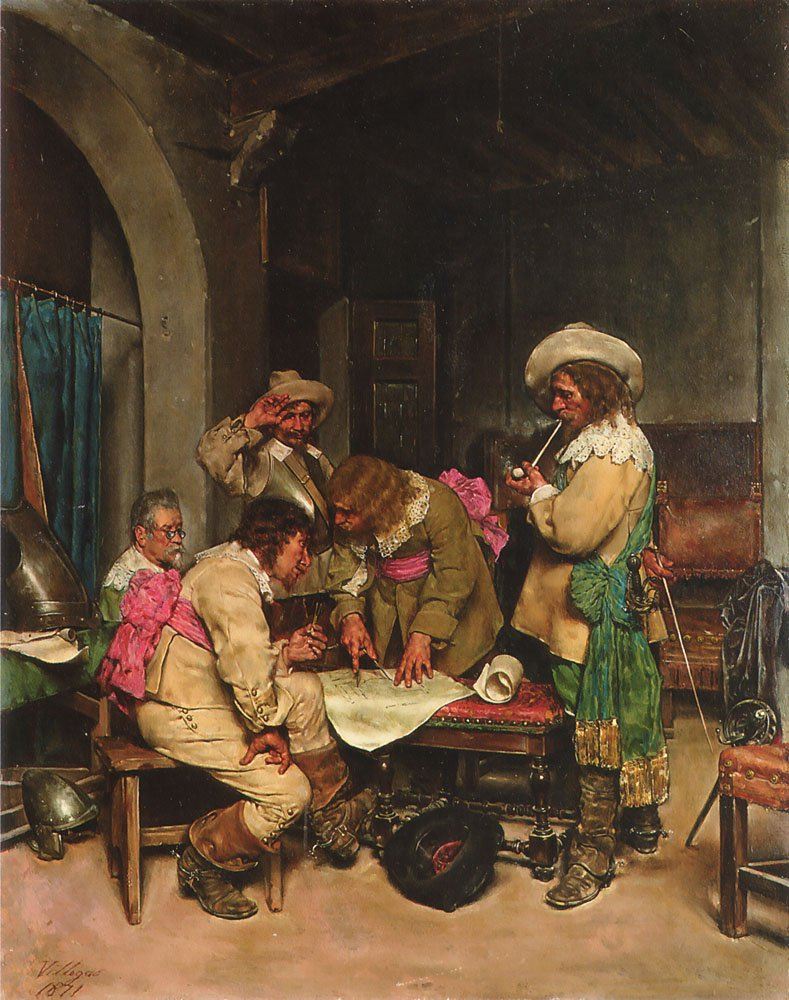 A Good Plan | Jose Villegas Cordero | Oil Painting