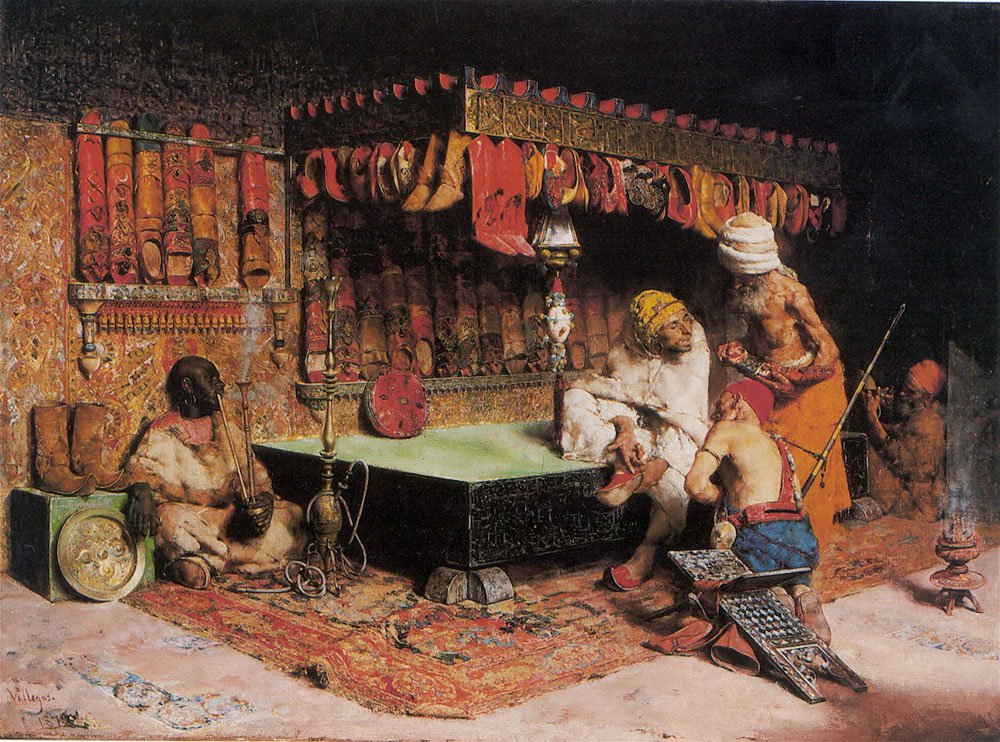 The Slipper Merchant | Jose Villegas Cordero | Oil Painting