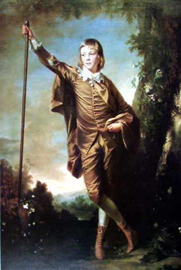 Brown Boy | Joshua Reynolds | Oil Painting