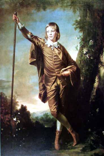 Brown Boy   Joshua Reynolds   Oil Painting