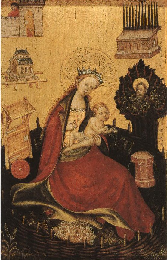 The Virgin And Child In The Hortus Conclusus | Anonymous Masters Between 1410 And 1430 | Oil Painting