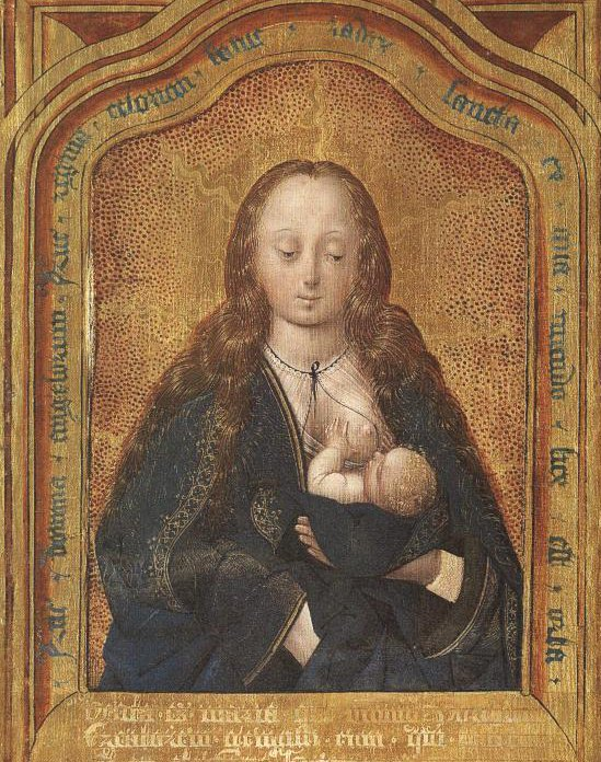 Madonna And Nursing Child | Anonymous Netherlandish Masters Between 1520 And 1540 | Oil Painting