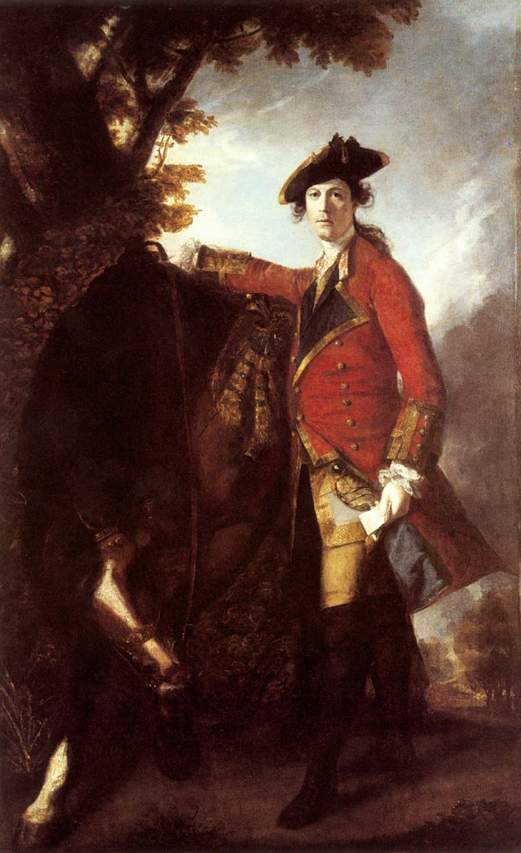 Captain Robert Orme | Joshua Reynolds | Oil Painting