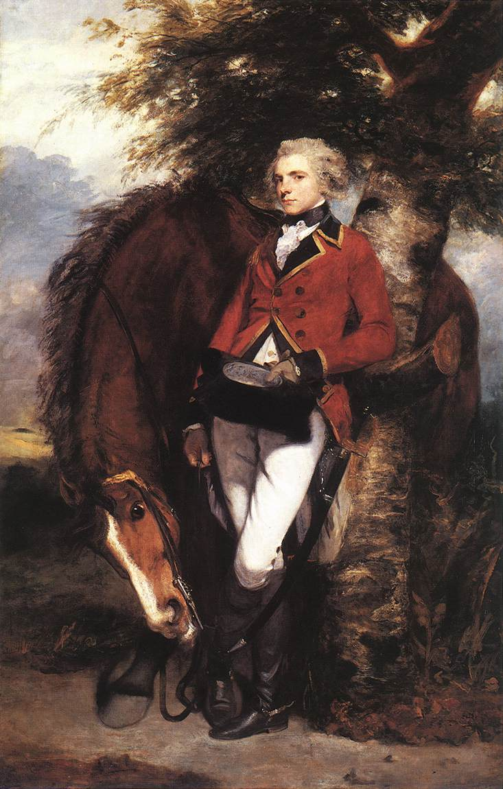 Colonel George Coussmaker | Joshua Reynolds | Oil Painting