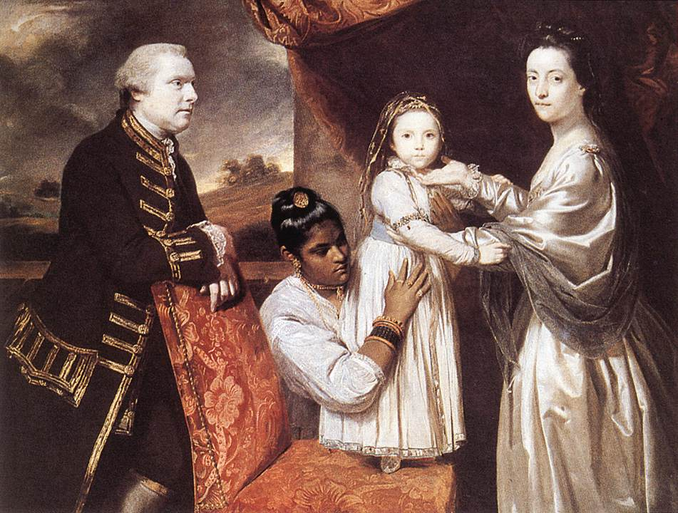 George Clive and his family | Joshua Reynolds | Oil Painting