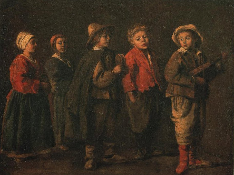 The Young Musicians | Antoine Le Nain | Oil Painting
