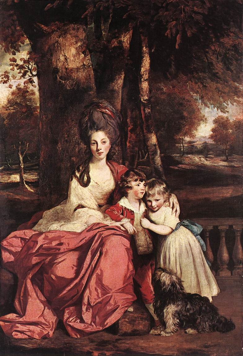 Lady Delme and her children | Joshua Reynolds | Oil Painting