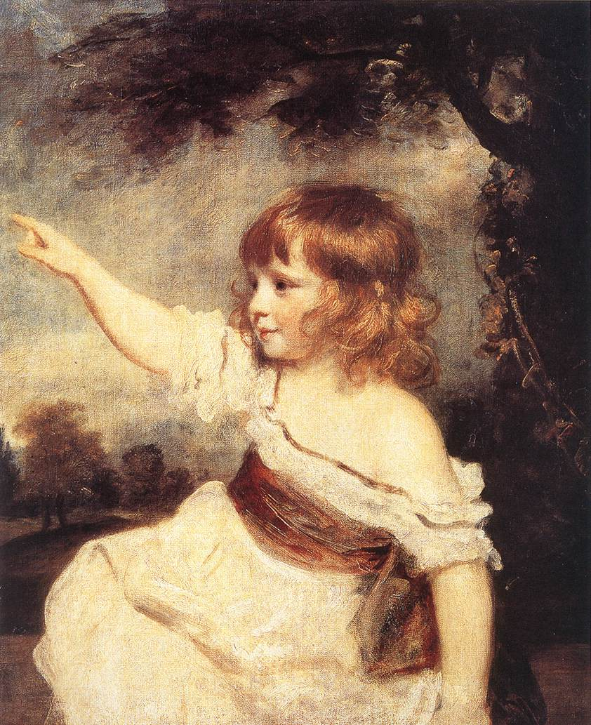 Master Hare | Joshua Reynolds | Oil Painting