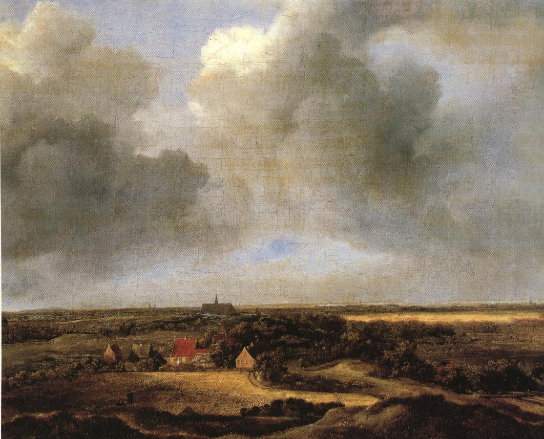 Bleaching Fields At Bloemendael Near Haarlem | Attributed To Ruisdael | Oil Painting