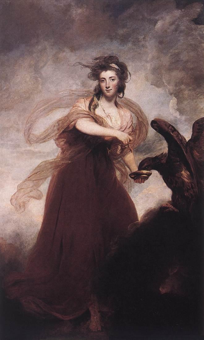 Mrs Musters as Hebe | Joshua Reynolds | Oil Painting