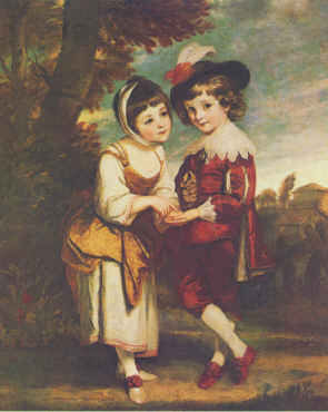 Young Fortune Teller | Joshua Reynolds | Oil Painting