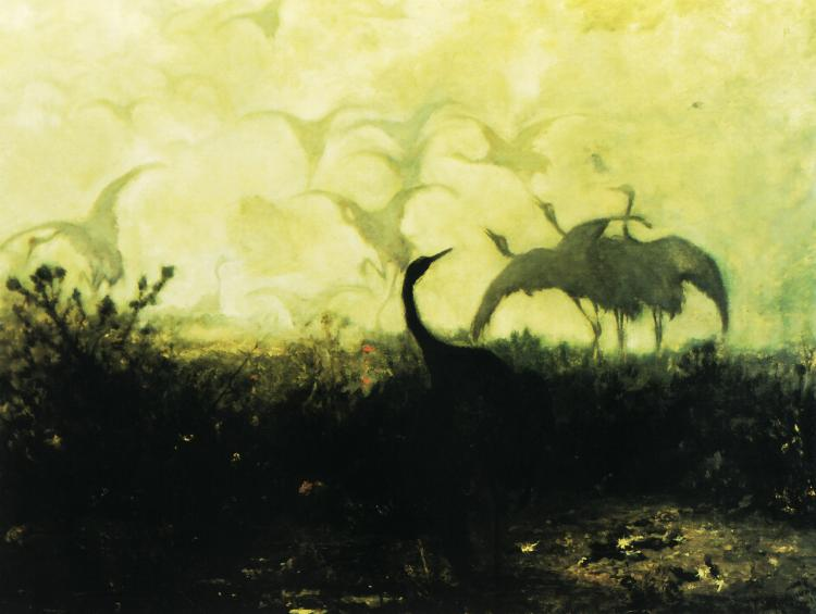 Cranes | Jozef Chelmonski | Oil Painting