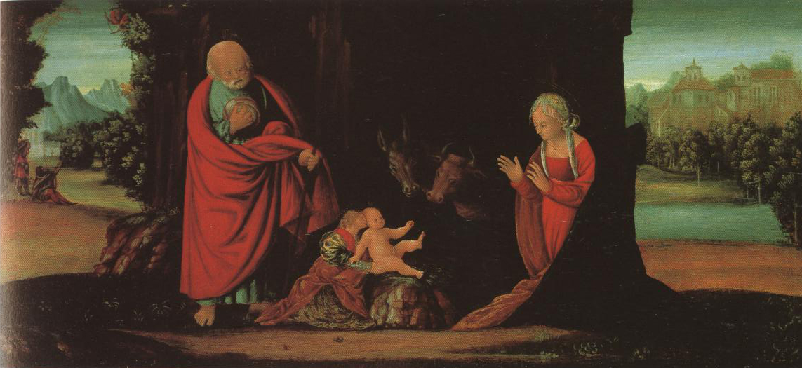 Nativity | Bernardino Buttinoni | Oil Painting