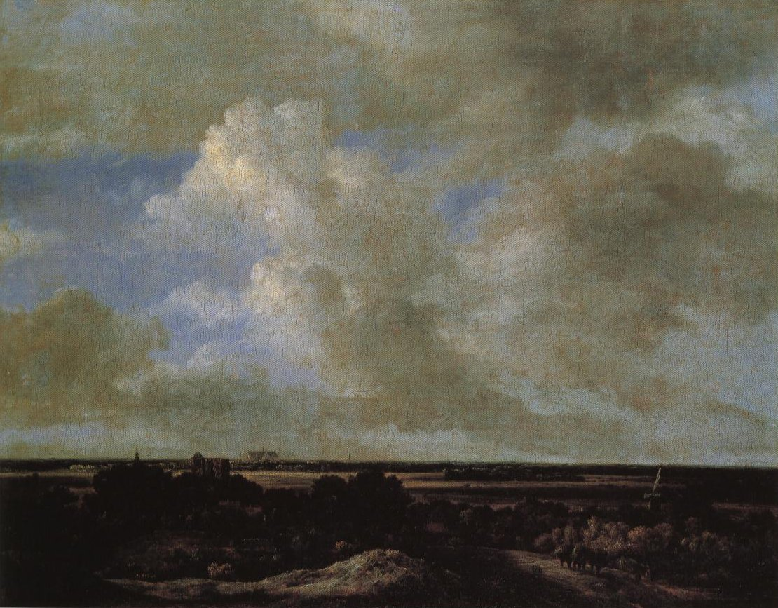 View Inland From The Coastal Dunes | Attributed To Ruisdael | Oil Painting