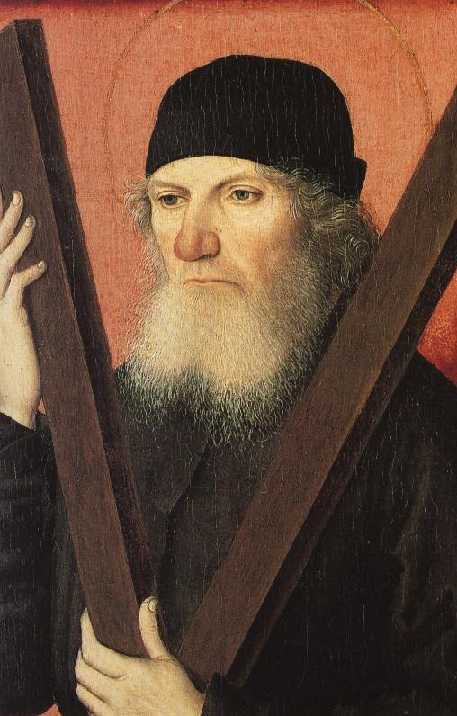 Portrait Of A Man As St Andrew   Attributed To The Master Of The Magdalene Legend   Oil Painting