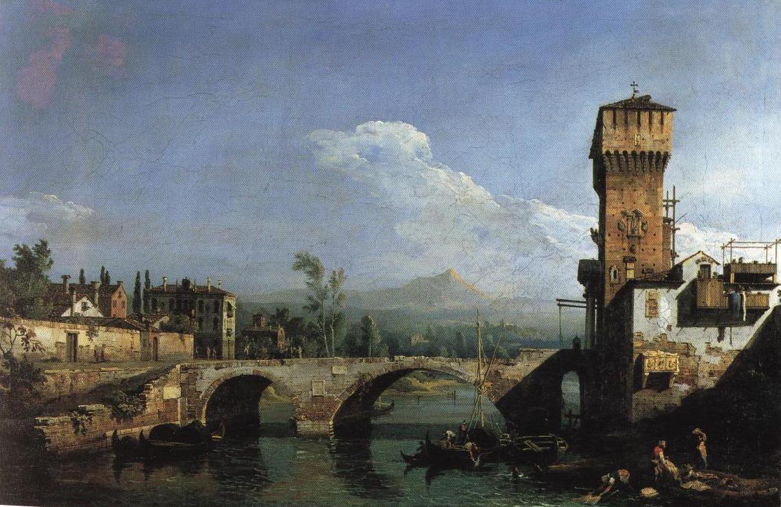 Capriccio Padovano | Bernardo Bellotto | Oil Painting