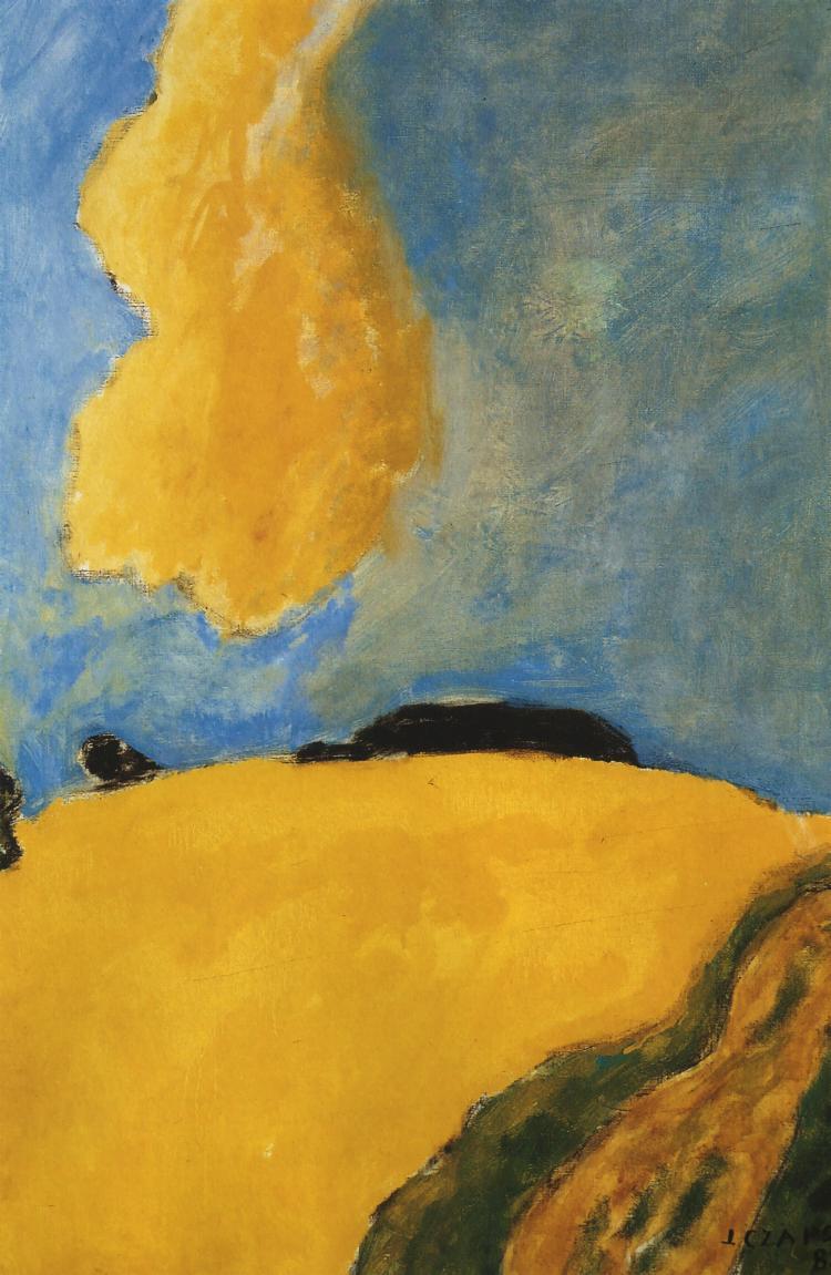 Yellow Cloud | Jozef Czapski | Oil Painting