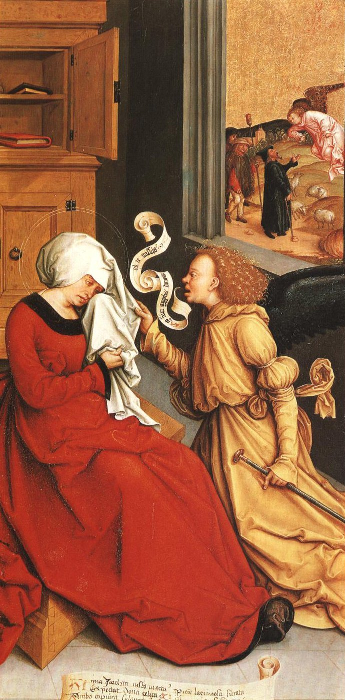 The Annunciation To St Anne | Bernhard Strigel | Oil Painting