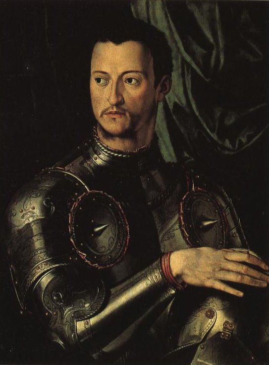 Cosimo De Medici In Armour | Bronzino | Oil Painting