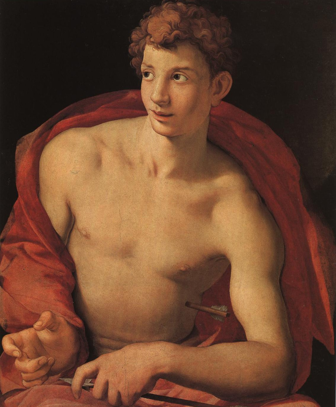 Portrait Of A Young Man As St Sebastian | Bronzino | Oil Painting