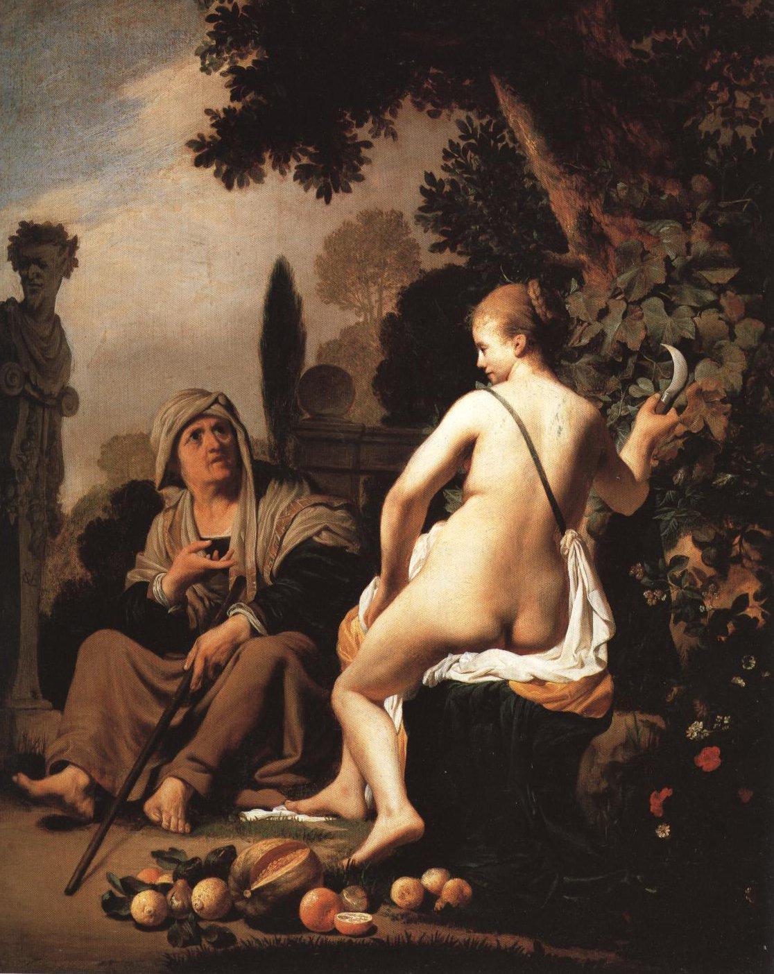 Vertumnus And Pomona | Caesar Van Everdingen | Oil Painting