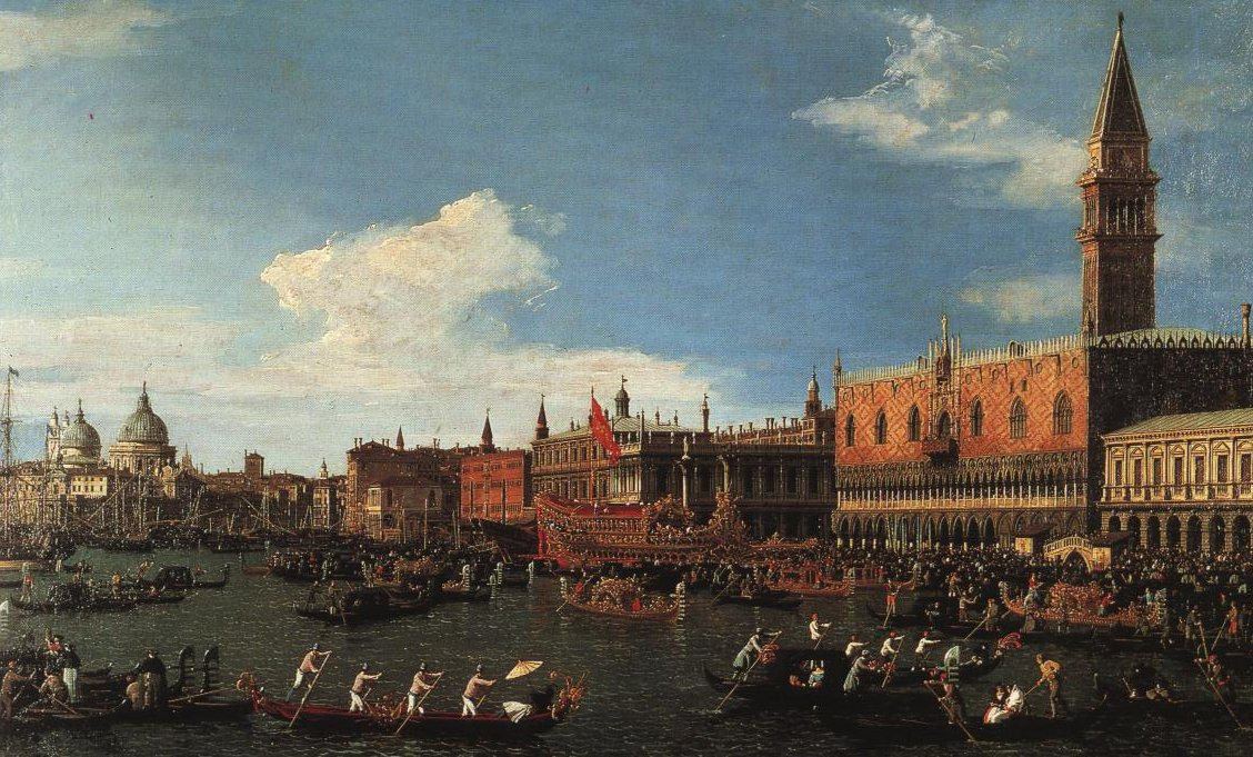 Il Bucintoro In Venice | Canaletto | Oil Painting